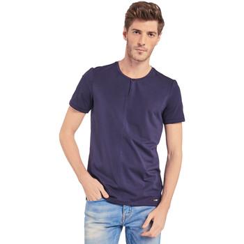 Abbigliamento Uomo T-shirt maniche corte Gaudi 011BU64094 Blu