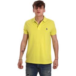 Abbigliamento Uomo Polo maniche corte U.S Polo Assn. 55957 41029 Giallo