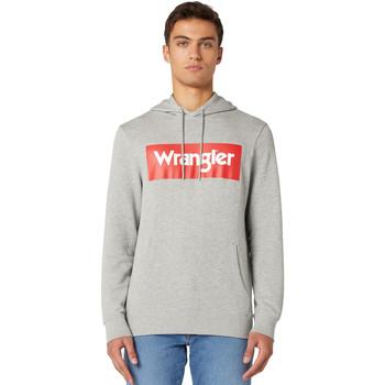 Abbigliamento Uomo Felpe Wrangler W6B9HAX37 Grigio