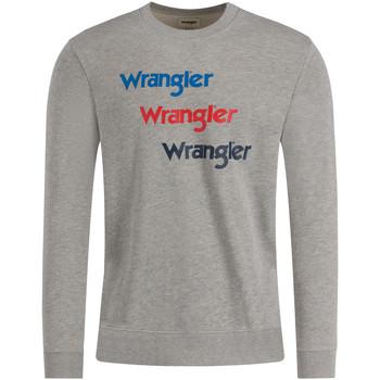 Abbigliamento Uomo Felpe Wrangler W6A5HAX37 Grigio