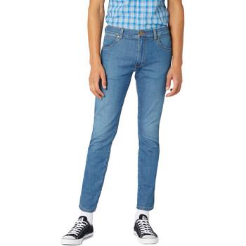 Abbigliamento Uomo Jeans slim Wrangler W18SQ1156 Blu