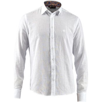 Abbigliamento Uomo Camicie maniche lunghe Lumberjack CM80846 001 603 Bianco