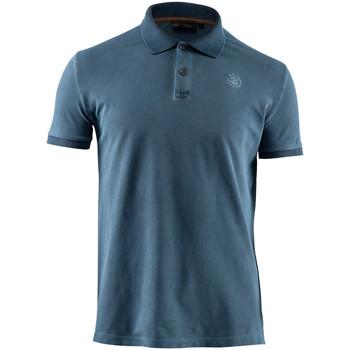 Abbigliamento Uomo Polo maniche corte Lumberjack CM45940 007 516 Blu