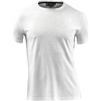 Abbigliamento Uomo T-shirt maniche corte Lumberjack CM60343 004 517 Bianco