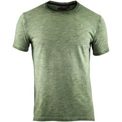 Abbigliamento Uomo T-shirt maniche corte Lumberjack CM60343 004 517 Verde