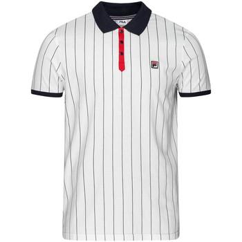 Abbigliamento Uomo Polo maniche corte Fila 687654 Bianco