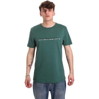 Abbigliamento Uomo T-shirt maniche corte Antony Morato MMKS01754 FA100144 Verde
