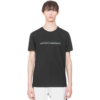 Abbigliamento Uomo T-shirt maniche corte Antony Morato MMKS01754 FA100144 Nero
