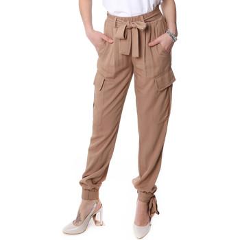 Abbigliamento Donna Pantalone Cargo Fracomina FR20SP127 Beige