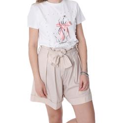 Abbigliamento Donna Shorts / Bermuda Fracomina FR20SP150 Beige