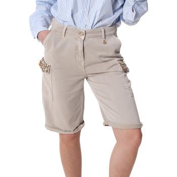 Abbigliamento Donna Shorts / Bermuda Fracomina FR20SP116 Beige