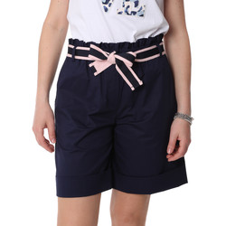 Abbigliamento Donna Shorts / Bermuda Fracomina FR20SP606 Blu