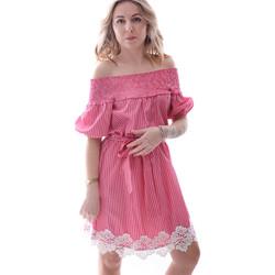 Abbigliamento Donna Abiti corti Fracomina FR20SP526 Rosso