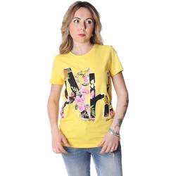 Abbigliamento Donna T-shirt maniche corte Fracomina FR20SP368 Giallo