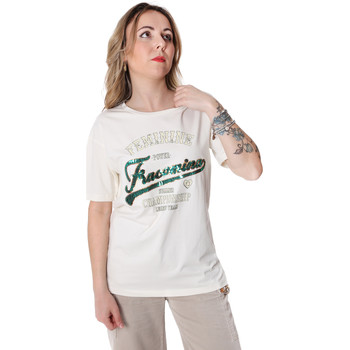 Abbigliamento Donna T-shirt maniche corte Fracomina FR20SP305 Bianco