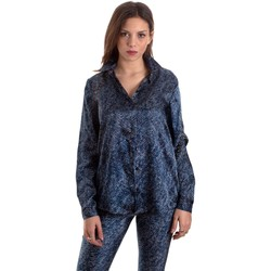 Abbigliamento Donna Camicie Versace B0HVB601S0683904 Blu