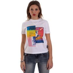 Abbigliamento Donna T-shirt maniche corte Versace B2HVB7V630331003 Bianco