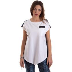 Abbigliamento Donna T-shirt maniche corte Versace D3HVB657S0683904 Bianco