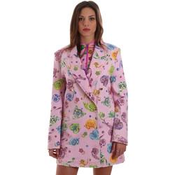 Abbigliamento Donna Giacche / Blazer Versace C2HVB507SN75SK69 Rosa