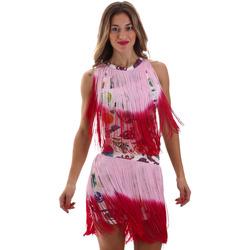 Abbigliamento Donna Abiti corti Versace D2HVB406S0777K67 Bianco