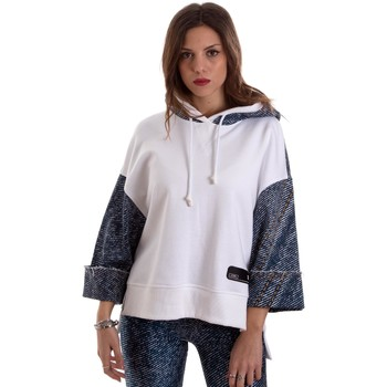 Abbigliamento Donna Felpe Versace B6HVB791SN900904 Bianco
