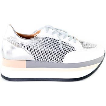 Scarpe Donna Sneakers basse Grace Shoes 331009 Argento