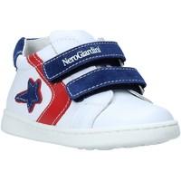 Scarpe Unisex bambino Sneakers basse Nero Giardini E019082M Bianco