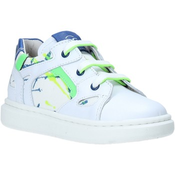Scarpe Unisex bambino Sneakers basse Nero Giardini E023805M Bianco