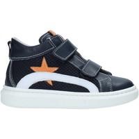 Scarpe Unisex bambino Sneakers alte Nero Giardini E023810M Blu