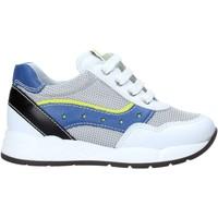 Scarpe Unisex bambino Sneakers basse Nero Giardini E023820M Bianco