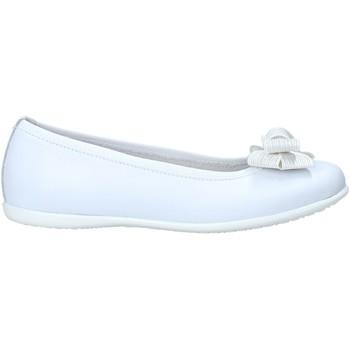 Scarpe Bambina Ballerine Nero Giardini E031401F Bianco
