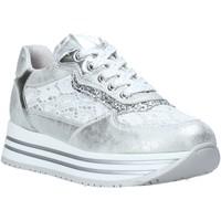 Scarpe Bambina Sneakers basse Nero Giardini E031460F Argento