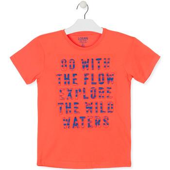 Abbigliamento Bambino T-shirt maniche corte Losan 013-1005AL Arancio