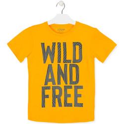 Abbigliamento Unisex bambino T-shirt maniche corte Losan 013-1018AL Giallo
