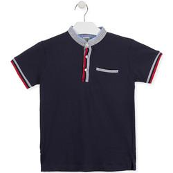 Abbigliamento Bambino Polo maniche corte Losan 013-1791AL Blu