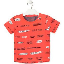 Abbigliamento Unisex bambino T-shirt maniche corte Losan 015-1003AL Arancio