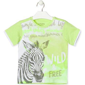 Abbigliamento Unisex bambino T-shirt maniche corte Losan 015-1011AL Verde