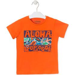 Abbigliamento Unisex bambino T-shirt maniche corte Losan 015-1025AL Arancio