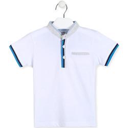 Abbigliamento Bambino Polo maniche corte Losan 015-1791AL Bianco