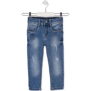 Abbigliamento Unisex bambino Jeans slim Losan 015-9008AL Blu