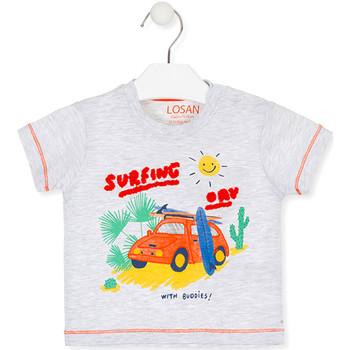 Abbigliamento Unisex bambino T-shirt maniche corte Losan 017-1015AL Grigio
