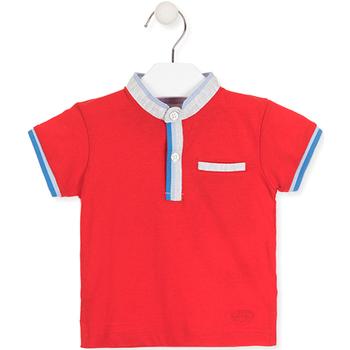 Abbigliamento Unisex bambino Polo maniche corte Losan 017-1791AL Rosso