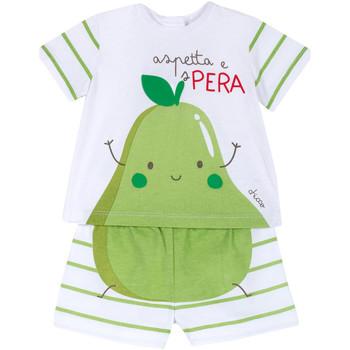 Abbigliamento Unisex bambino Completo Chicco 09076381000000 Bianco