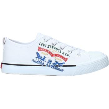 Scarpe Unisex bambino Sneakers basse Levi's VORI0008T Bianco