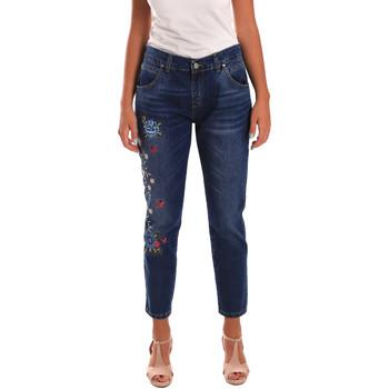 Abbigliamento Donna Jeans slim Y Not? 18PEY096 Blu