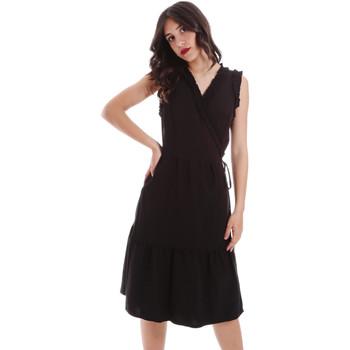 Abbigliamento Donna Abiti corti Gaudi 011BD15037 Nero