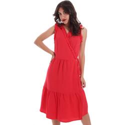 Abbigliamento Donna Abiti corti Gaudi 011BD15037 Rosso