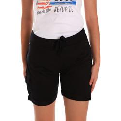 Abbigliamento Donna Shorts / Bermuda Key Up 5G75F 0001 Nero