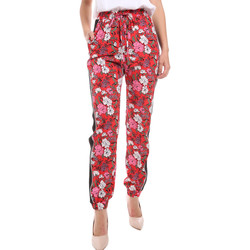 Abbigliamento Donna Pantaloni morbidi / Pantaloni alla zuava Gaudi 011BD25032 Rosso