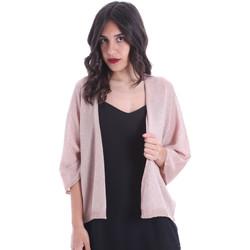 Abbigliamento Donna Gilet / Cardigan Gaudi 011FD53010 Rosa